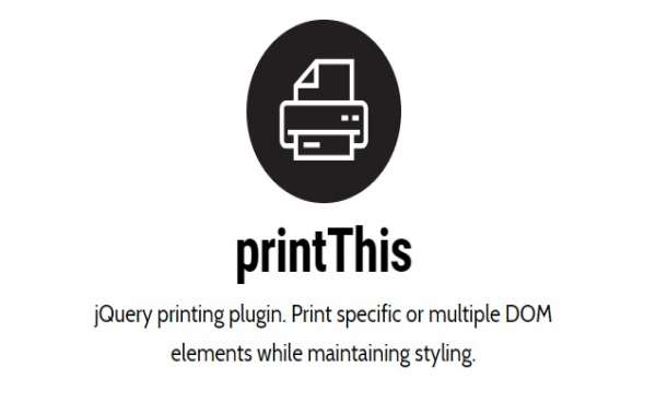 Print html page with css